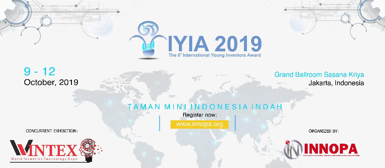 The 6th International Young Inventors Awards (IYIA) 2019 seocon 2021 - img 5d384ac03c2a2 - SEOCon 2021 Kembali Dihelat Maret Ini