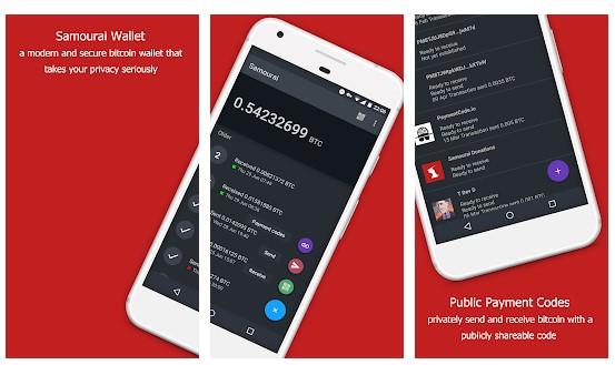 Samourai Wallet wallet bitcoin - 6 Samourai Wallet - 5 Aplikasi Wallet Bitcoin di Android Terbaik