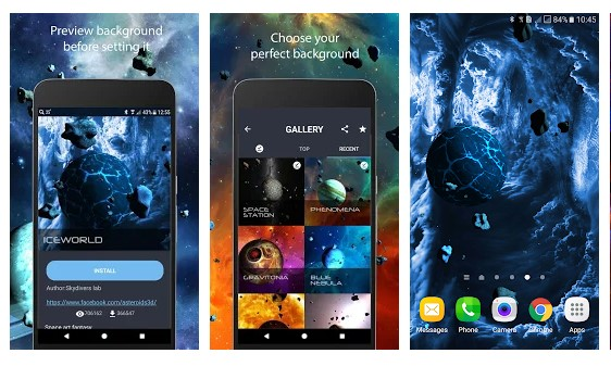 strategi pemasaran online - 8 Asteroid 3D Live Wallpaper - Strategi Pemasaran Online untuk Bisnis