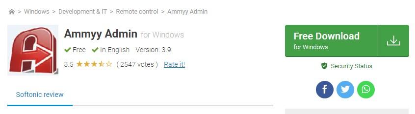 Aplikasi Ammyy Admin 5 aplikasi remote pc terbaik - 9 Ammyy Admin - 5 Aplikasi Remote PC Terbaik yang Paling Populer