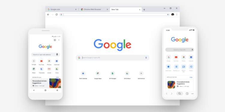 font chrome - chrome new ui 750x375 - Cara Memperbesar Ukuran Teks Di Google Chrome