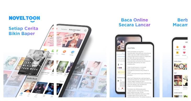 NovelToon aplikasi baca novel - NovelToon - 5 Aplikasi Baca Novel Terpopuler dan Terupdate 2021