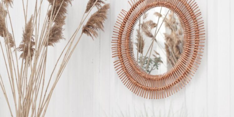 Tips Mengembangkan Usaha Kerajinan Rotan untuk Memasuki Pasar Internasional - bali style home interior mirror on the wall island style summer good vibes palms dry grass white wall t20 WggB6w 750x375 - Tips Mengembangkan Usaha Kerajinan Rotan untuk Memasuki Pasar Internasional