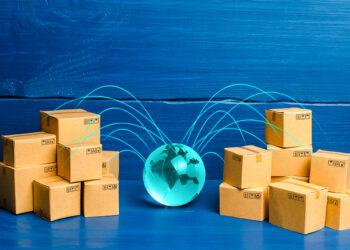 marketing ekspor online tips dan trik bersaing di dunia ekspor - boxes connected with the planet concept of deliver GPS6MA6 350x250 - Tips dan Trik Bersaing di Dunia Ekspor